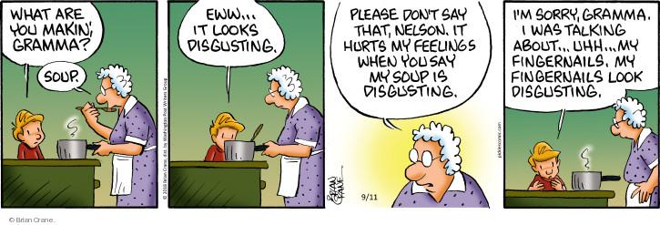 Comic Strip Brian Crane  Pickles 2018-09-11 cook