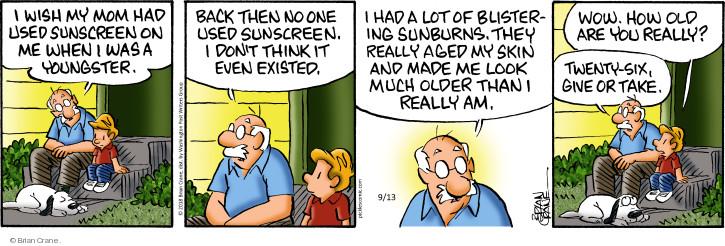 Comic Strip Brian Crane  Pickles 2018-09-13 exist