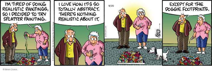 Comic Strip Brian Crane  Pickles 2018-09-15 tire