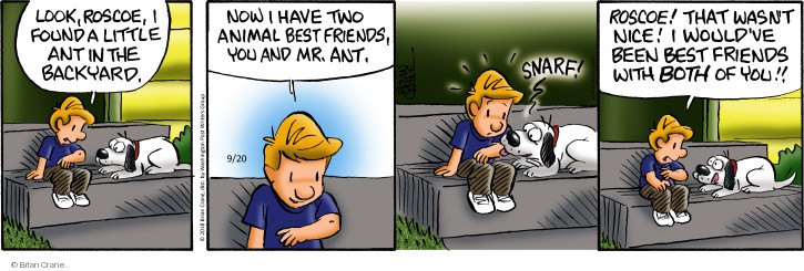 Comic Strip Brian Crane  Pickles 2018-09-20 animal
