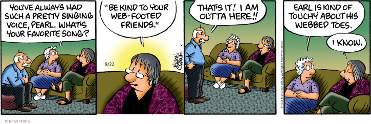 Comic Strip Brian Crane  Pickles 2018-09-22 Earl