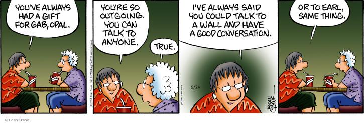 Comic Strip Brian Crane  Pickles 2018-09-24 gift