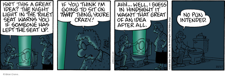 Comic Strip Brian Crane  Pickles 2018-10-17 wasn't