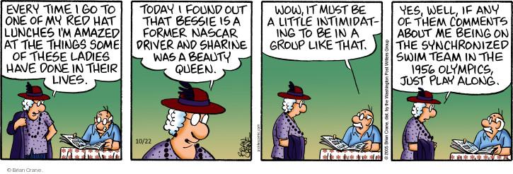 Comic Strip Brian Crane  Pickles 2018-10-22 1950s