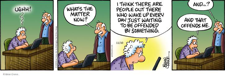 Comic Strip Brian Crane  Pickles 2018-11-10 matter
