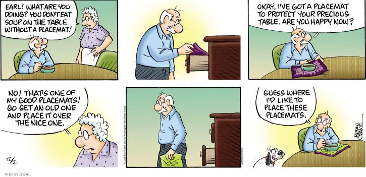 Comic Strip Brian Crane  Pickles 2018-12-02 place