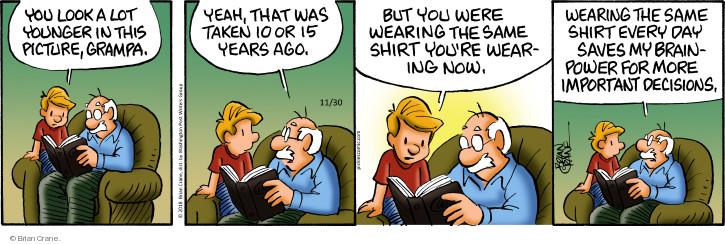 Comic Strip Brian Crane  Pickles 2018-11-30 wear