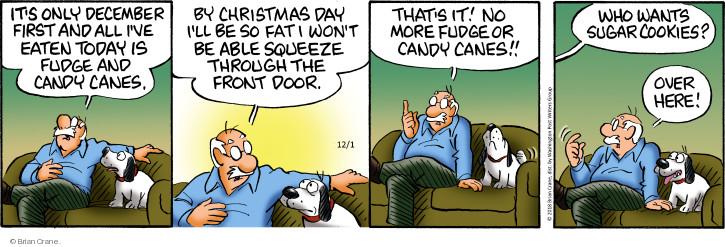 Comic Strip Brian Crane  Pickles 2018-12-01 fat