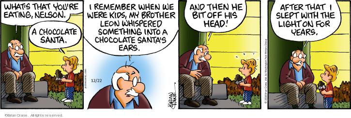 Comic Strip Brian Crane  Pickles 2018-12-22 Christmas