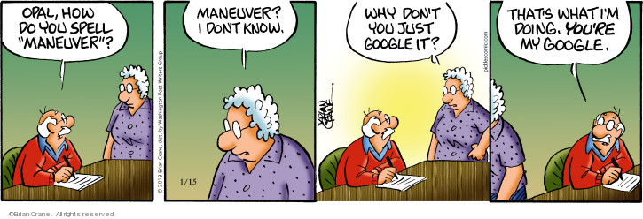 Comic Strip Brian Crane  Pickles 2019-01-15 internet search
