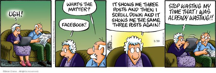 Comic Strip Brian Crane  Pickles 2019-01-30 social