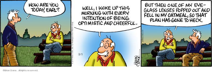 Comic Strip Brian Crane  Pickles 2019-02-01 fall