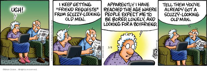 Comic Strip Brian Crane  Pickles 2019-03-08 people