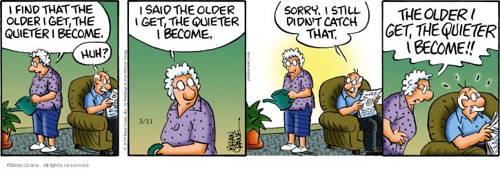 Comic Strip Brian Crane  Pickles 2019-03-11 catch