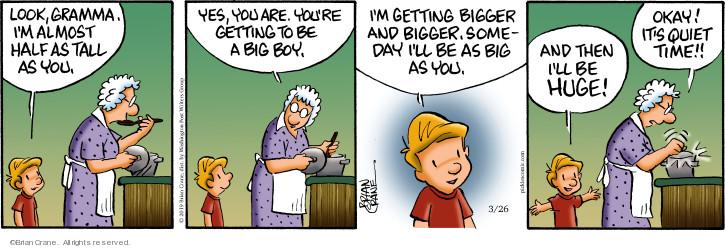 Comic Strip Brian Crane  Pickles 2019-03-26 child