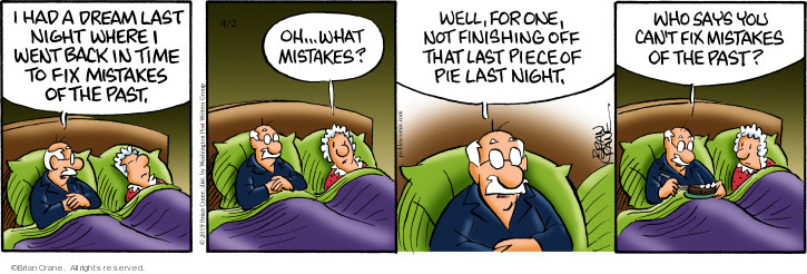 Comic Strip Brian Crane  Pickles 2019-04-02 night