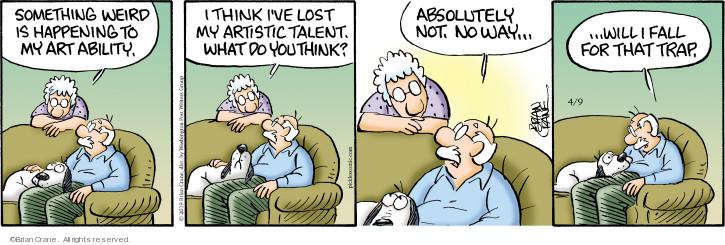 Comic Strip Brian Crane  Pickles 2019-04-09 fall
