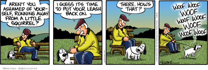 Cartoonist Brian Crane  Pickles 2019-04-18 time