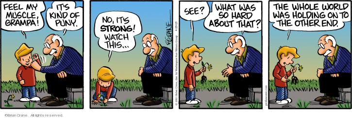 Comic Strip Brian Crane  Pickles 2019-04-19 strong