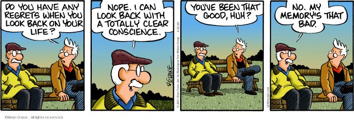 Comic Strip Brian Crane  Pickles 2019-04-22 bad