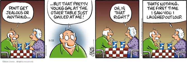 Cartoonist Brian Crane  Pickles 2019-05-22 time