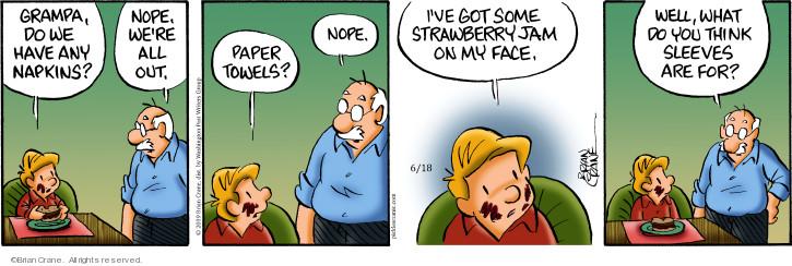 Comic Strip Brian Crane  Pickles 2019-06-18 paper