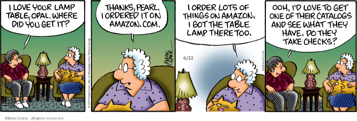 Comic Strip Brian Crane  Pickles 2019-06-22 Amazon