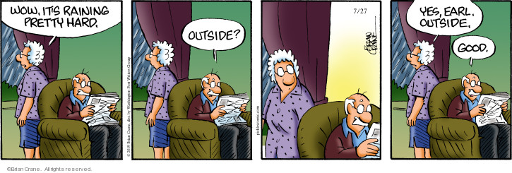 Comic Strip Brian Crane  Pickles 2019-07-27 good