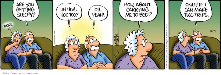 Comic Strip Brian Crane  Pickles 2019-08-28 yeah