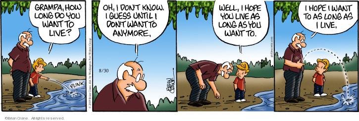 Comic Strip Brian Crane  Pickles 2019-08-30 span
