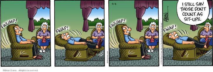 Comic Strip Brian Crane  Pickles 2019-09-04 laziness