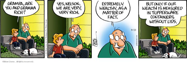 Comic Strip Brian Crane  Pickles 2019-09-23 matter