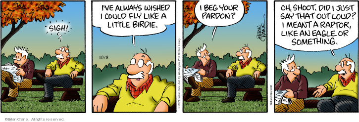 Comic Strip Brian Crane  Pickles 2019-10-08 little