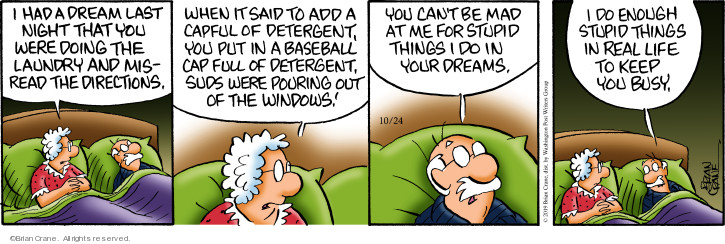 Comic Strip Brian Crane  Pickles 2019-10-24 baseball