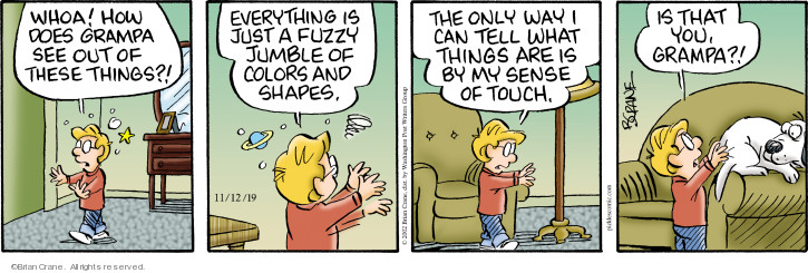 Comic Strip Brian Crane  Pickles 2019-11-12 touch