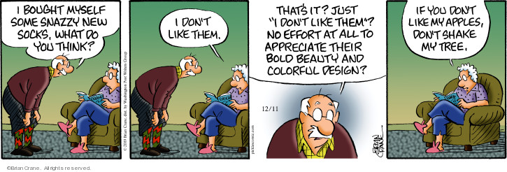 Comic Strip Brian Crane  Pickles 2019-12-11 fashion