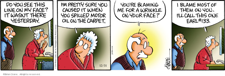 Comic Strip Brian Crane  Pickles 2019-12-31 carpet