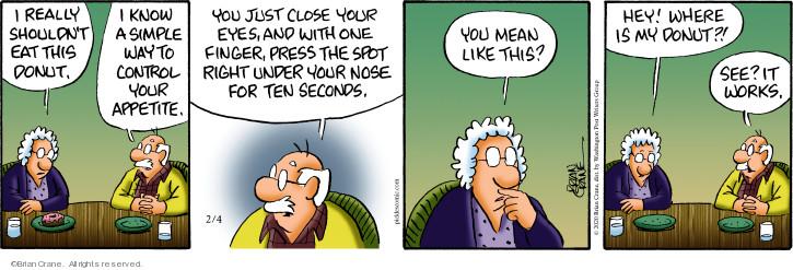 Comic Strip Brian Crane  Pickles 2020-02-04 eye