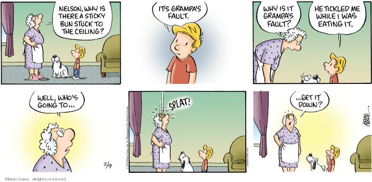 Comic Strip Brian Crane  Pickles 2020-02-09 grampa