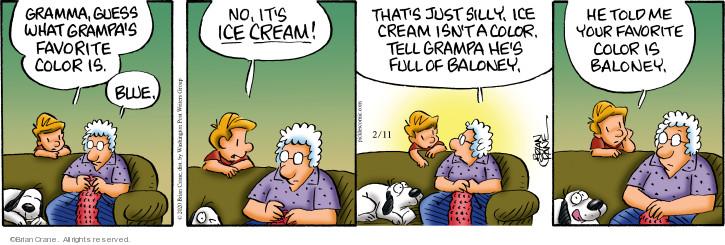 Comic Strip Brian Crane  Pickles 2020-02-11 color
