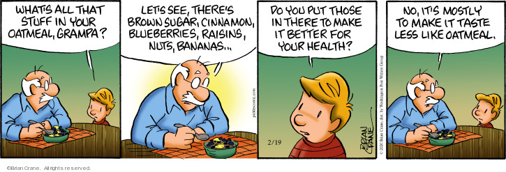 Comic Strip Brian Crane  Pickles 2020-02-19 health