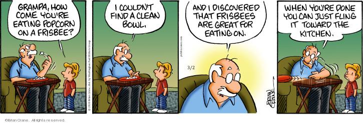 Comic Strip Brian Crane  Pickles 2020-03-02 kitchen