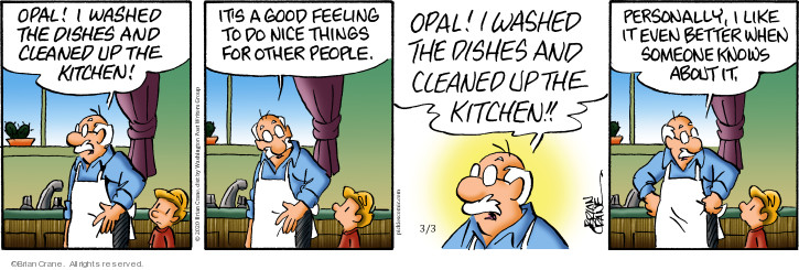 Comic Strip Brian Crane  Pickles 2020-03-03 kitchen