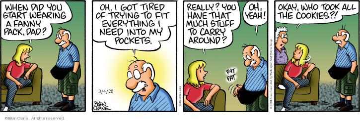 Comic Strip Brian Crane  Pickles 2020-03-04 wear