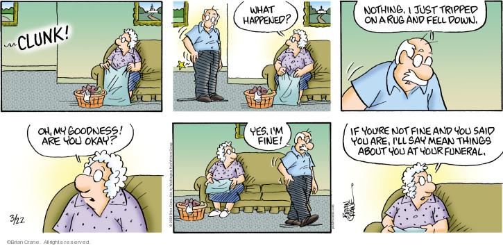 Comic Strip Brian Crane  Pickles 2020-03-22 dead