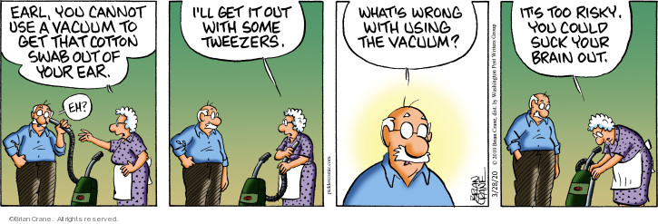 Comic Strip Brian Crane  Pickles 2020-03-28 Earl