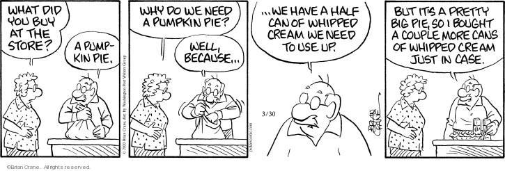 Cartoonist Brian Crane  Pickles 2020-03-30 couple