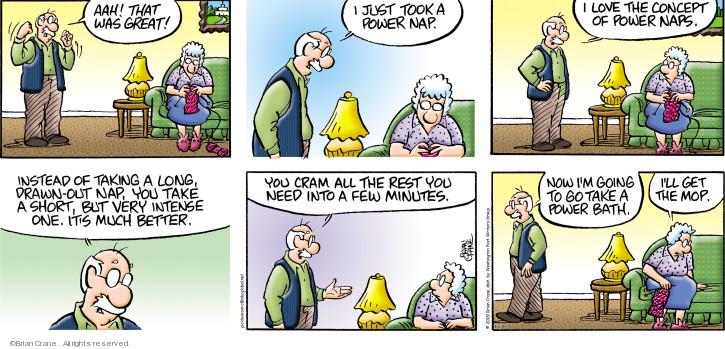 Comic Strip Brian Crane  Pickles 2020-04-05 love