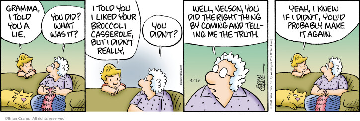 Comic Strip Brian Crane  Pickles 2020-04-13 Nelson