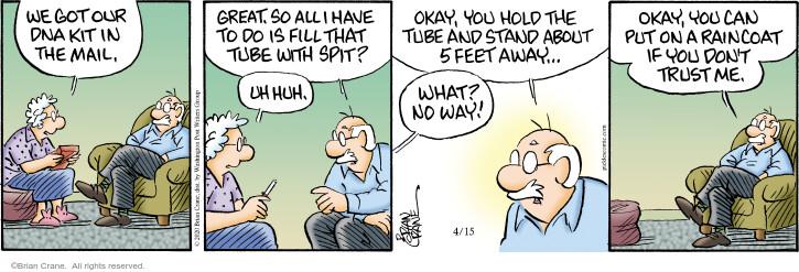 Comic Strip Brian Crane  Pickles 2020-04-15 way